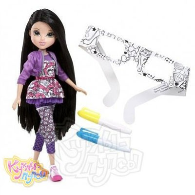 Кукла Moxie Модница с маркерами