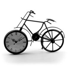 Настольные часы Велосипед (цвет — чёрный)