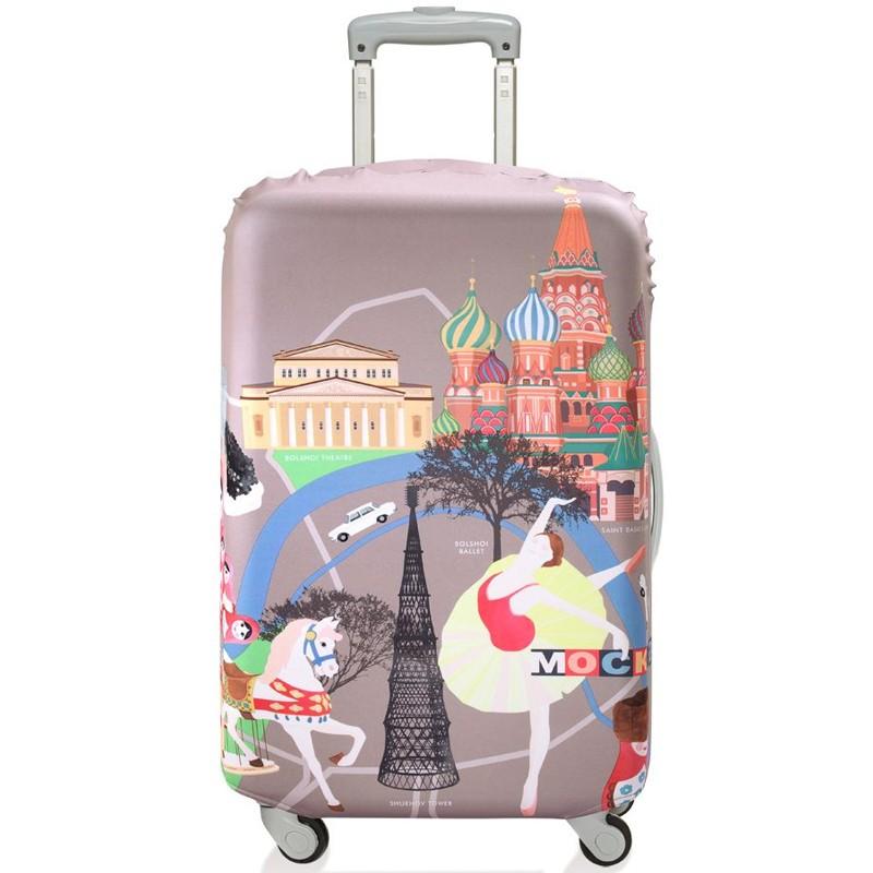 Чехол для чемодана Moscow, большой