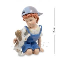 Фигурка Мальчик с собачкой (Pavone)