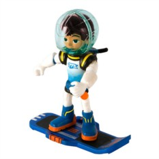 Фигурка Miles from Tomorrowland Майлз с бластбордом (7 см)