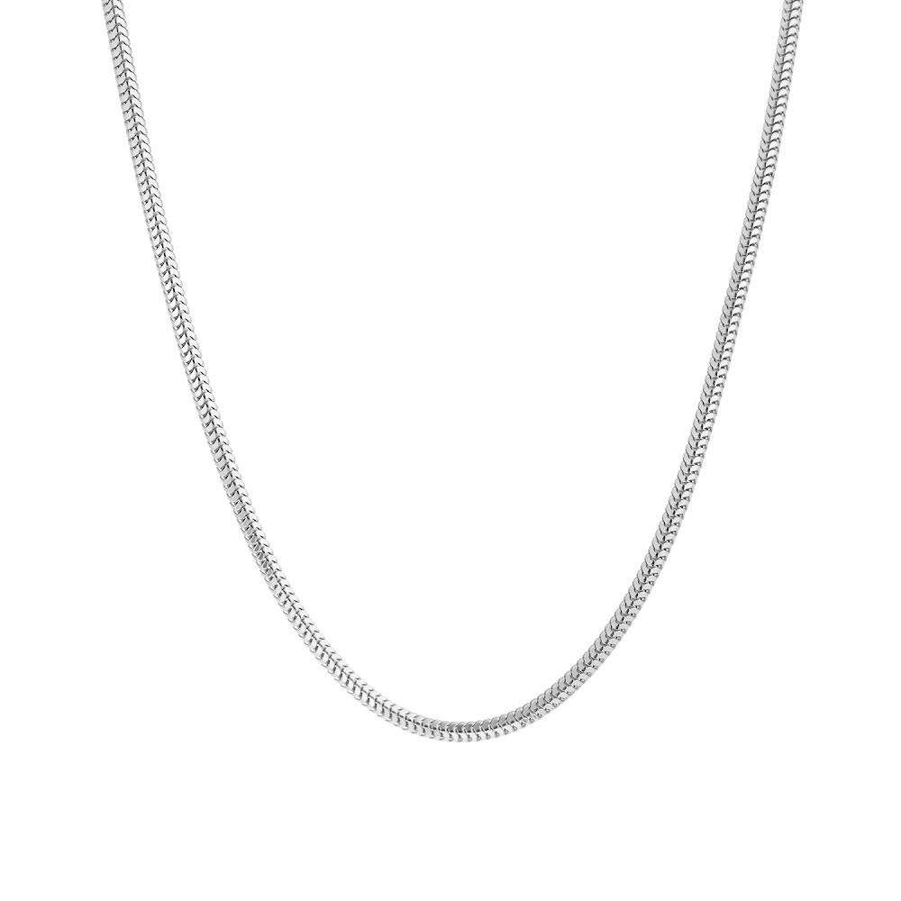 Серебряная цепочка «Мягкий снейк»