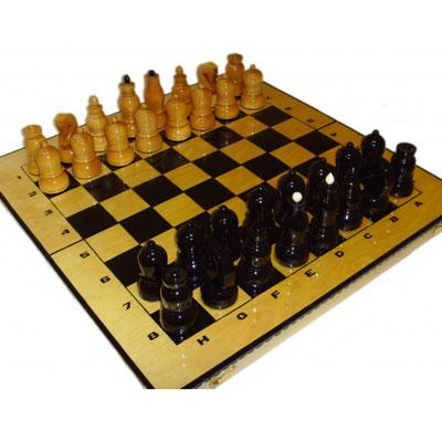 Набор подарочных шахмат «Чёрные и белые»