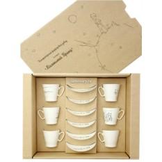 Подарочный набор из шести кофейных пар Маленький принц