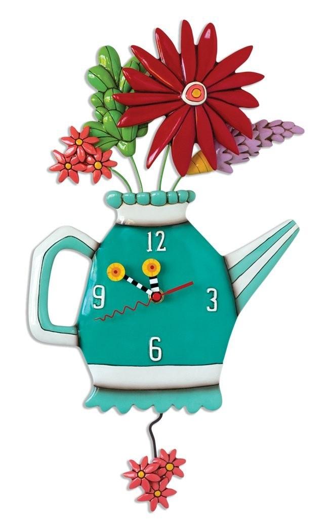 """Часы """"Весенний букет"""""""