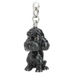 Брелок для ключей Poodle Black