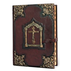 Большая книга Библия с литьем