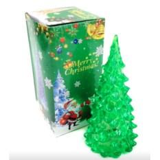 Новогодняя светодиодная елочка (цвет: зеленый)