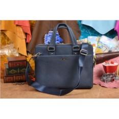 Синяя мужская сумка-портфель коллекции BB1