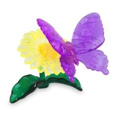Головоломка 3D Crystal Puzzle Бабочка