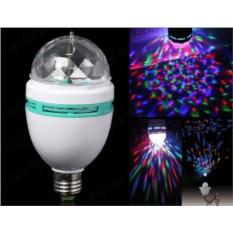Вращающаяся разноцветная лампа Home Party