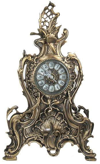 Часы каминные Иллюзия