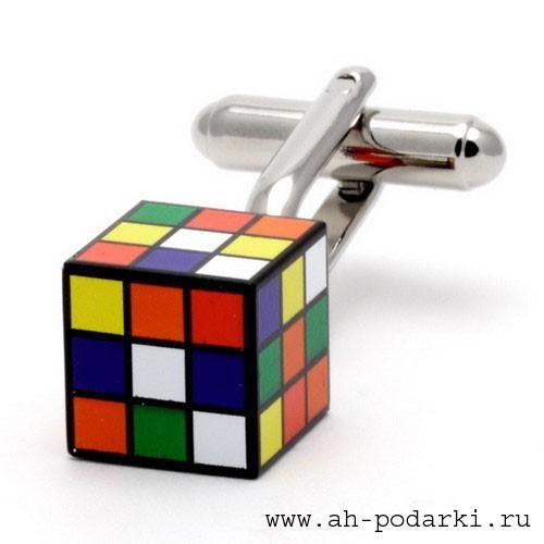 Запонки Кубик-Рубика