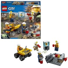 Конструктор Lego City Бригада шахтеров