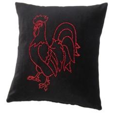 Декоративная подушка Красный петух