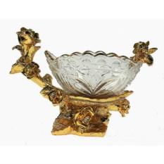 Стеклянная конфетница Версаль