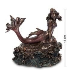 Шкатулка Русалка (цвет — темно-коричневый)