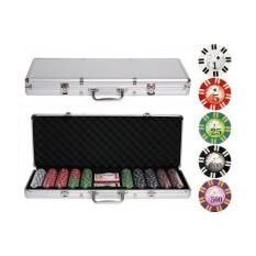 Набор для покер в кейсе на 500 фишек Casino Bellagio