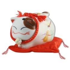 Японский кот-копилка Манеки-неко Фортуна!