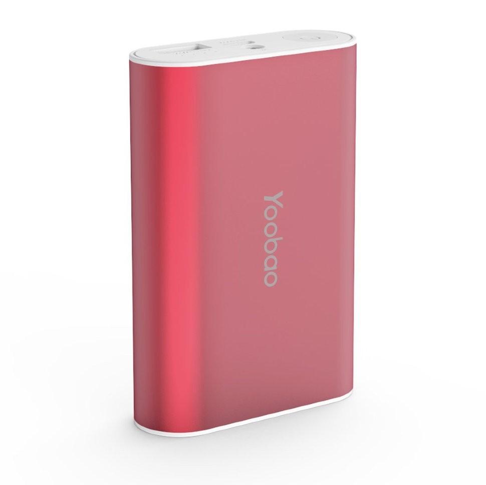 Внешний аккумулятор Yoobao 7800 mAh YB-6013 Red
