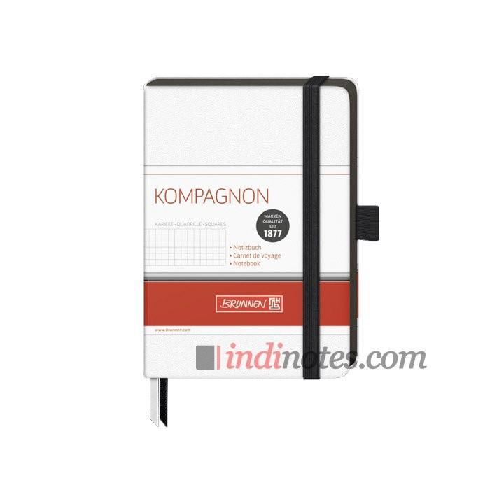 Записная книжка Brunnen Kompagnon White A6