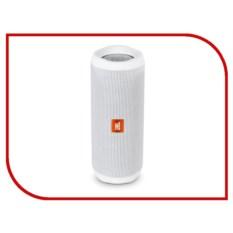 Портативная водонепроницаемая колонка JBL Flip 4 White