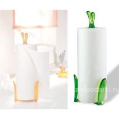 Держатель бумажных полотенец Кролик Роджер зеленый
