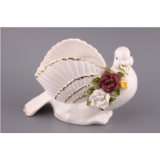 Фигурка Голубь с розами Hebei Grinding