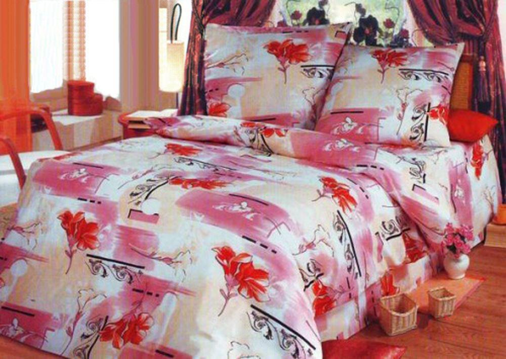 Комплект постельного белья Вензеля бежевые (бязь)