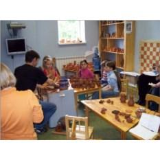 Семейный мастер-класс по гончарному искусству для 3 человек