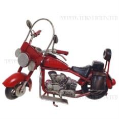 Модель мотоцикл красного цвета (11,5 см)