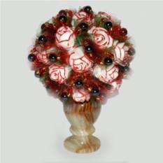 Цветы из гематита Любовная страсть