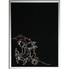 Фоторамка с кристаллами Swarovski Ангел-2