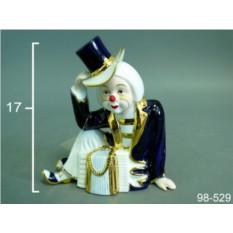Статуэтка Клоун с гармошкой