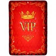 Флисовый плед «VIP»