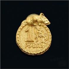 Монетка с мышкой