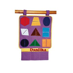 Игровой коврик - конструктор «Сложи фигуры»