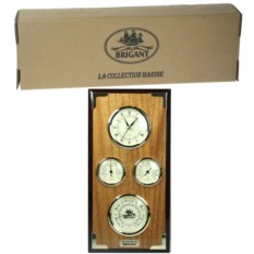 Часы-метеостанция BRIGANT: барометр, термометр, гигрометр