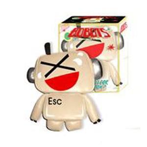 Дизайнерская игрушка EMOTICBOT