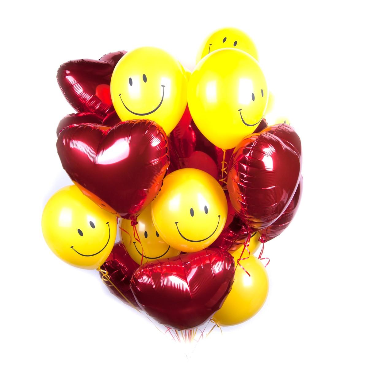 Картинки сердце из воздушных шаров