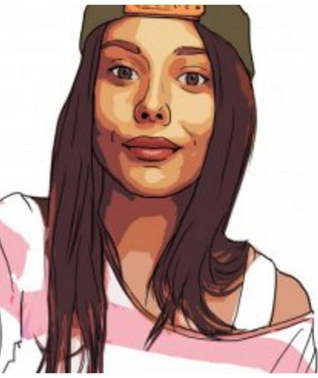 Женский портрет Классическая обработка