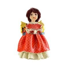 Фарфоровая статуэтка Ангел певица