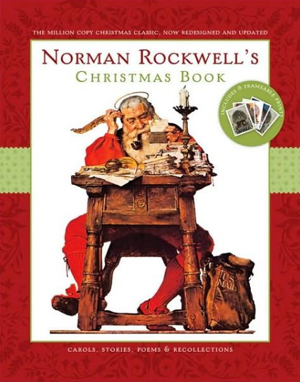 Новогодняя книга Norman Rockwell's Christmas Book