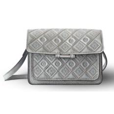 Женская сумка «Фантазия» (цвет — серебристый)