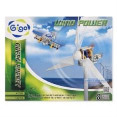 Конструктор Gigo «Энергия ветра» (133 детали и 8 моделей)