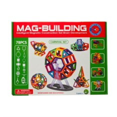 Магнитный конструктор Magbuildings на 36 деталей