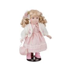 Фарфоровая кукла Марица с мягконабивным туловищем