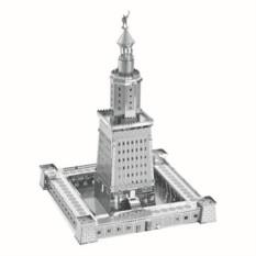 3D пазл из металла Александрийский маяк