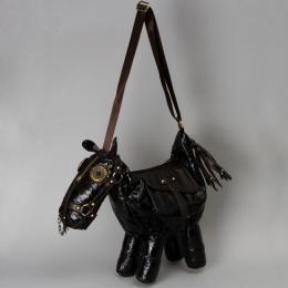 Сумка черная «Лошадь»