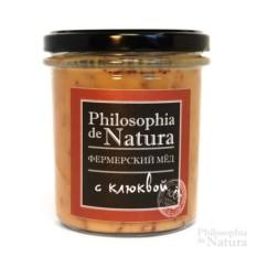 Фермерский крем-мед с клюквой Philosophiya de natura